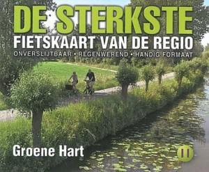 Sterkste fietskaart Groene Hart