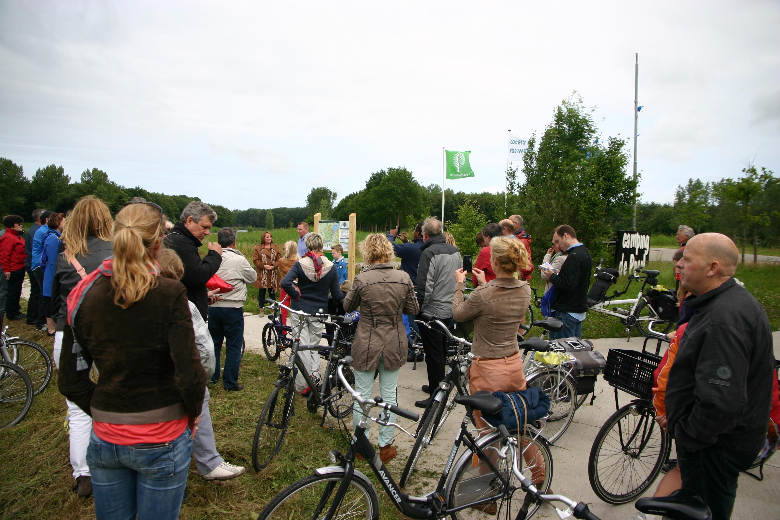 Opening fietsroutenetwerk Zeewolde