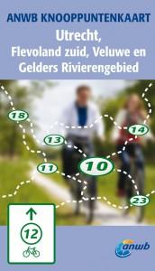 Knooppuntkaart Utrecht, Flevoland en Gelderse rivierengebied