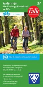 fietskaart Ardennen met Heuvelland en Eifel