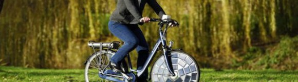 Eerste e-bike op zonne-energie