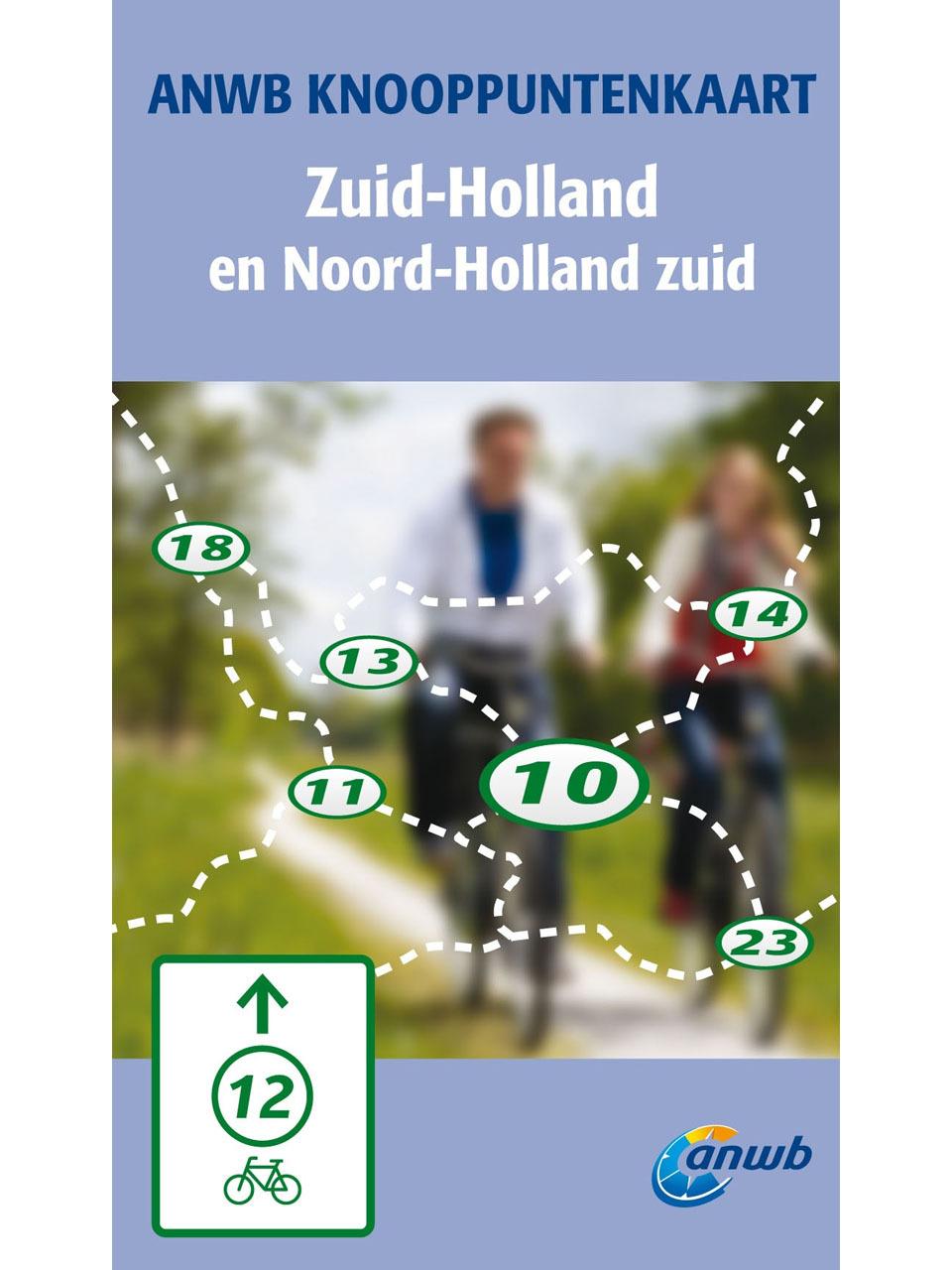 kaart zuid holland