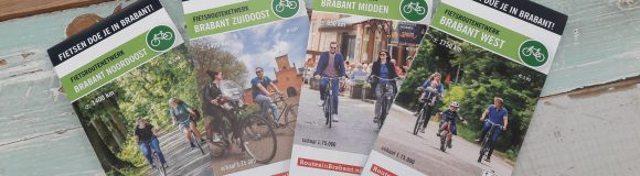 Nieuwe fietsknooppunten fietskaarten voor provincie Noord-Brabant